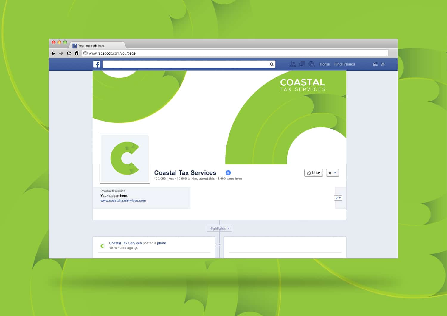 Coastal Tax Facebook
